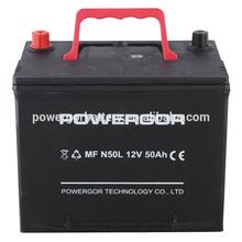 powergor battery car battery MFN50 12V