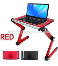 protable folding aluminium desk laptop table on bed