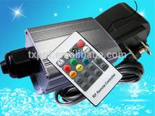 5W LED Fiber Optic Light Engine Wireless RGB Color