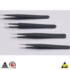 Rubber tweezers esd tweezers stainless steel tweezers