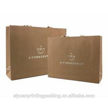 Durable unique thick kraft paper bag