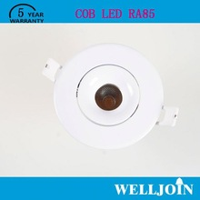 NEW DESIGN Professional Adjustable 7W LED COB cree high power led downlight