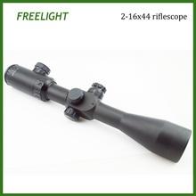 Freelight Optic 2-16x44 Lunete Arme de Vanatoare Tactical Rifle Scope with illuminated red/green Mil-Dot Reticle