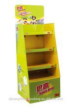 Economic useful paper book display shelf