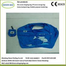 shopping china supplier eco animal shaped nylon foldable bags