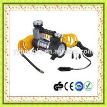 DC12V Metal Car air compressor portable car air compressor air pump With Led light