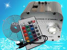 Newest China Manufacturing 27W RGB LED/OSRAM fiber optic light engine with Color Wheel