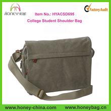 New Style Mens Cross Body Shoulder Bag Manufacturer In China Fashion College Student Shoulder Bag