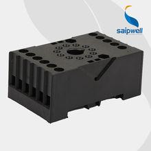 SAIP/SAIPWELL Hot Selling Plastic Electrical Custom Automotive Relay Socket