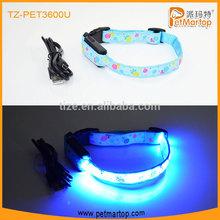 New USB RechargeableThe Colorful lollipops Series collar PET3600U Led Dog Collar