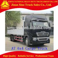 Howo A7 Chasis Van Truck 6x4 cargo Truck