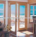 Di legno di colore pvc porta/porta di legno di colore/porte in vetro interno francese