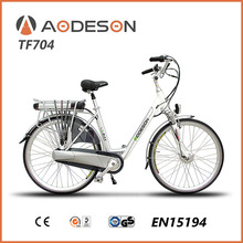 strong and durable city e bike TF704 with 36V10Ah lithium battery and 250w motor