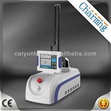 Portable RF tube co2 fractional laser for hospital