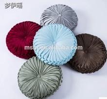 Pumpkin flower Sofa satin Decorative Pillow chair Cushion