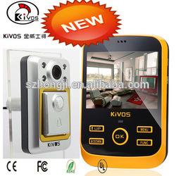 KIVOS night vision camera gsm alarm system wireless bedroom doorbell