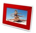 7inch cadre photo numérique avec une surface de miroir de fonction muti