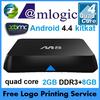 M8 mali 450 quad core amlogic s802 high quality full hd sex porn video TV BOX