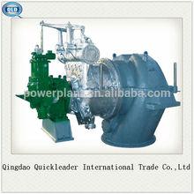 migliore qualità 100kw turbina a vapore a bassa pressione di piccole dimensioni