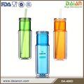 promocional 16 onças pet inserção de água de plástico garrafa de bebida