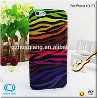 mobile case 2014 fashion leopard design TPU case for apple iPhone 6/iPhone 6 plus