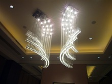 SASO top-grade and beautiful luxury hotel crystal celling lamp,home decoration