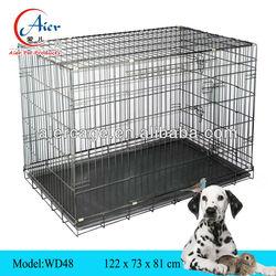 folding large metal dog cage