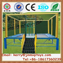 New style trampoline bed, trampoline fabric, inflatable trampoline from china JMQ-J128E