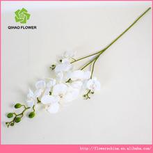 grossista novo design 3 cabeças flores artificiais de orquídeas preço barato