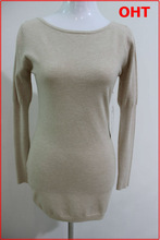 fashion sexy lace design ladies sweater 2014