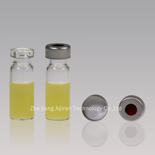 HPLC AND GC Vials with glass gasket and cover
