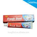 oem 150g pasta de dientes de los fumadores de las marcas en inglés