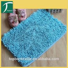 Crazy selling fashion print shaggy mat