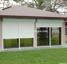 Security aluminium roller shutters electric window blinds