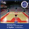 Indoor basketball floor for professional international game