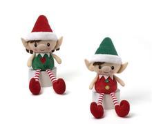 soft plush stuffed christmas elf, plush stuffed christmas elf, stuffed christmas elf
