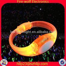 Music Event Concert Remote LED wristband Manufacturer Supplier Club Tourmaline Titanium Bracelet