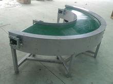 Gravity Fixed Curve Belt Conveyor Machine/Curve Belt Conveyor