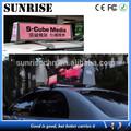La salida del sol llevó la pantalla de visualización de vídeo función y a todo color, A todo Color de Chip de tubo de Color LED publicidad pantalla