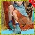 Nuevo modelo de la escuela sexy falda de las niñas, patrón de la moda los pantalones vaqueros faldas para las señoras, elegante con pliegues pantalones vaqueros falda para las niñas muy baratos de china