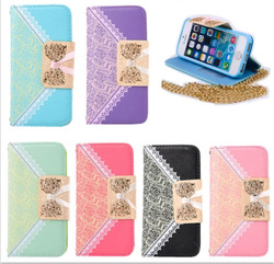 """2014 new products pu leather wallet cell phone case for iphone 6 Plus 5.5"""" inch mobile phone accessories"""