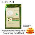 hot vente 2014 avocat huile de coco pour le lissage et nourrissant masque facial