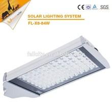84w solar powered outdoor lighting/Factory price solar street light garden solar lamp
