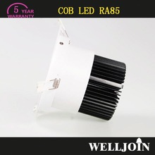 Professional Adjustable 7W LED COB high luminous 2013 cob led downlight