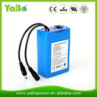 12v rechargeable battery pack 6600mah for led light/strip/panel, CCTV camera, Heating clothes/shoes/blanket