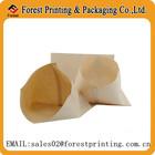 Hot sale bread packaging bag with brown kraft paper