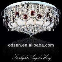 modern lustre cristal lighting
