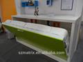Hochwertigeitalienische design versteckte bett möbel, holz versteckt bett, schrank versteckt bett möbel