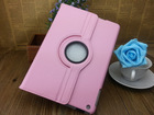 unique 360 degree tablet case stand flip PU leather tablet case for iPad 5