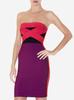 guangzhou wholesale women red bandage dress